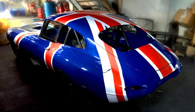 Covering partiel de véhicule(drapeau britannique)