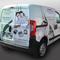 Semi covering sur voiture. Publicité voiture en sérigraphie complète. Le semi covering est la solution idéale pour une visibilité maximum et un coût réduit ! Fabricant installateur. signarama, 94, Val de Marne.