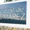 Enseigne publicitaire pour le Domaine de Saumarez. Lettres ajourées. Signarama Montpellier