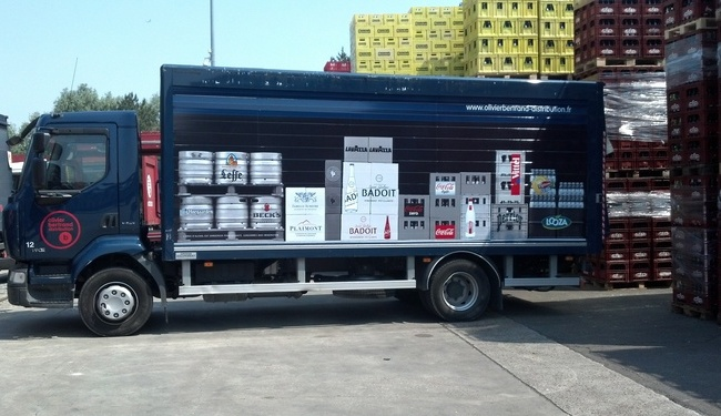 marquage publicitaire integral voiture camion moto. Black Bedroom Furniture Sets. Home Design Ideas
