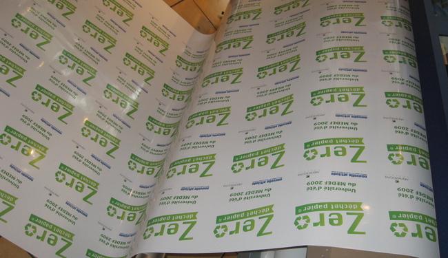 Stickers impression numérique quadri Signarama Issy les Moulineaux