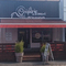 Fourniture et pose d'un store - Signalétique et identité visuelle - store, lambrequin, ré-entoilage - Signarama Bordeaux Lac pour la crêperie- Devis et tarifs : bordeaux-lac@signarama.fr - 05 56 10 48 26