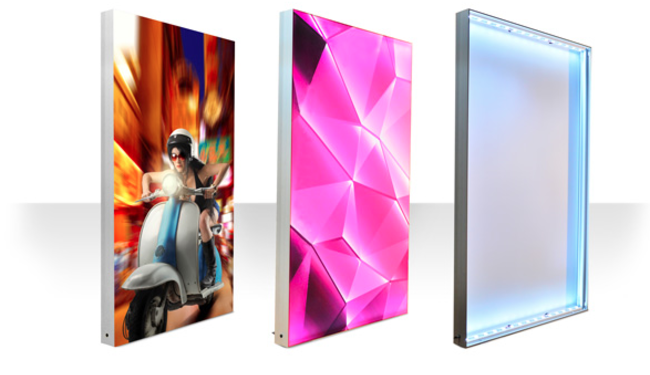 signarama paris 13 votre toile imprimee sur cadre lumineux. Black Bedroom Furniture Sets. Home Design Ideas